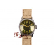 Original WW2 USAAF Type A-11 Watch by Elgin, 1943 (Khaki strap)