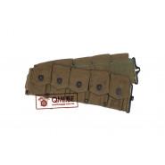 Original US WW2, Garand M1923 Cartridge Belt, 1945