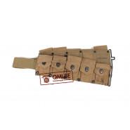 Original US WW2, Garand M1923 Cartridge Belt, Burlington Mills Inc. 1942 (NOS)