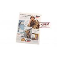 "Orig. WW2 advertisement ""Camel, The Marines are landing…"""