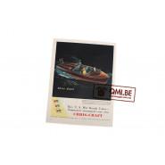 """Orig. WW2 advertisement """"Chris-Craft Motor boats, Buy U.S. War Bonds Today…"""""""