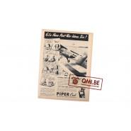 """Orig. WW2 ad. """"Piper Cub, G.I.s Have Post-War ideas, Too!"""""""