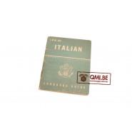 Original US WW2, Italian Language Guide, Dated June 2, 1943