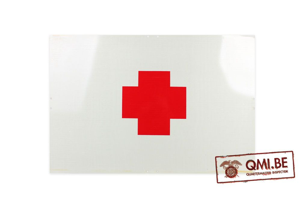 Sign Reflective Red Cross 60 X 40 Cm