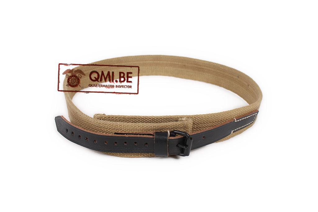 German M44 web trouser belt