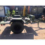 US Chassis Trailer 1 Ton 2Wheel M116A3