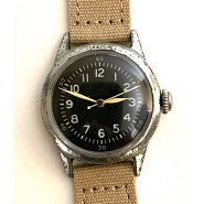 Original WW2 USAAF Type A-11 Watch by Waltham, 1942 (Khaki strap)