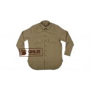 Mustard shirt M-1937 (De Brabander Mfg. Co.)