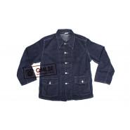Jacket, Work, Blue-Denim, M1940