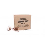 Partial Dinner Unit, menu #4