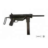 "Denix Non-firing replica, M3 Submachine Gun Cal. .45 ""Grease Gun"", USA 1942"