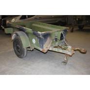US WW2 Jeep Trailer (Ex. French Army)