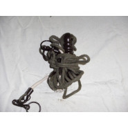 Antenna hold down rope