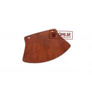 Mud Flap, HD WLA (brown leather)