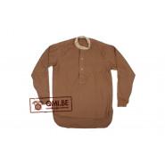 Wool Shirt, collarless