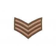 British Sergeant Rank Stripes