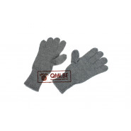 German Grey Wool Gloves
