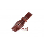 Bayonet Frog with strap (brown)