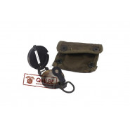 Compass (Corps of Engineers) with pouch