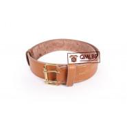 French, WW1 leather belt