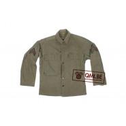 US WW2 HBT jacket, 36R (8)