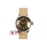 Original WW2 US Navy Watch by Waltham (Khaki strap)