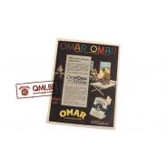 "Orig. WW2 advertisement ""Omar"""