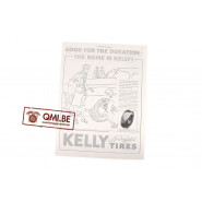 """Orig. WW2 advertisement """"Kelly Tires, Good for the Duration"""""""