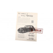 "Orig. WW2 ad. ""Daimler, The Confidence of Driving a Daimler"""