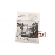 "Orig. WW2 ad. ""Hudson, Team Play… All-American Style"""