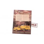 "Orig. WW2 ad. ""International Trucks, 32 Years… or an afternoon"""