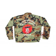Camouflage Liner Jacket, size XL, Embroidered (#1)