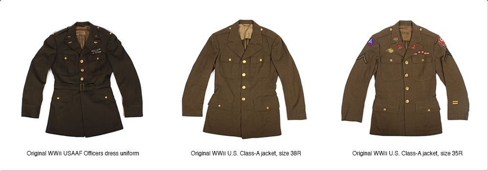 Qmi Original WWII Uniforms