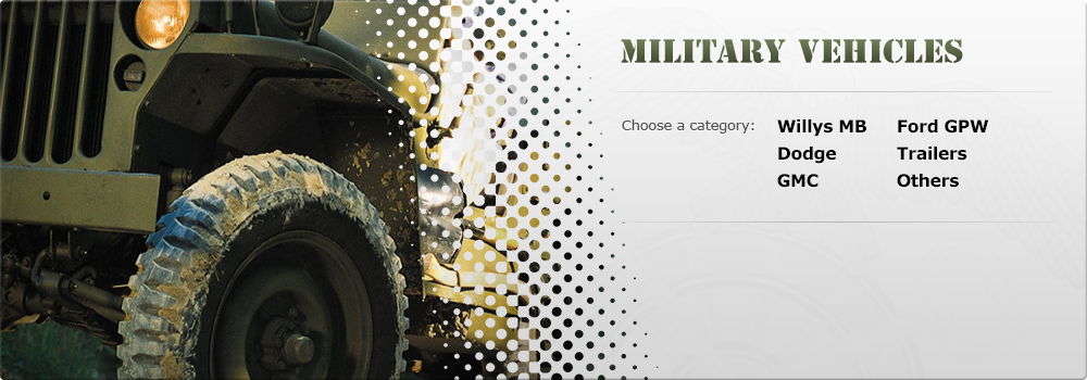 Enter Qmi military vehicles webshop