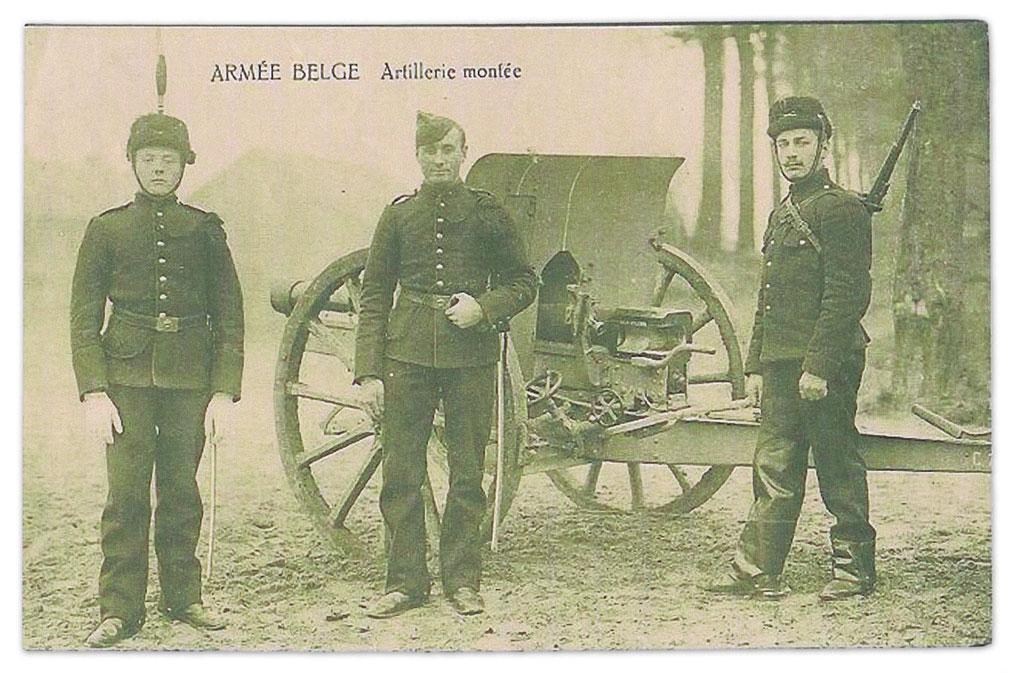 Armee Belge Artillerie Monfee