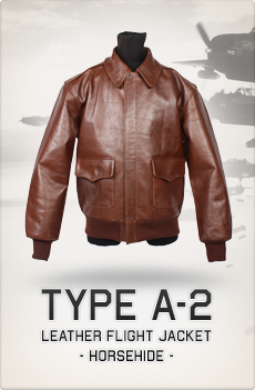 A2 Flight Jacket Horsehide Leather